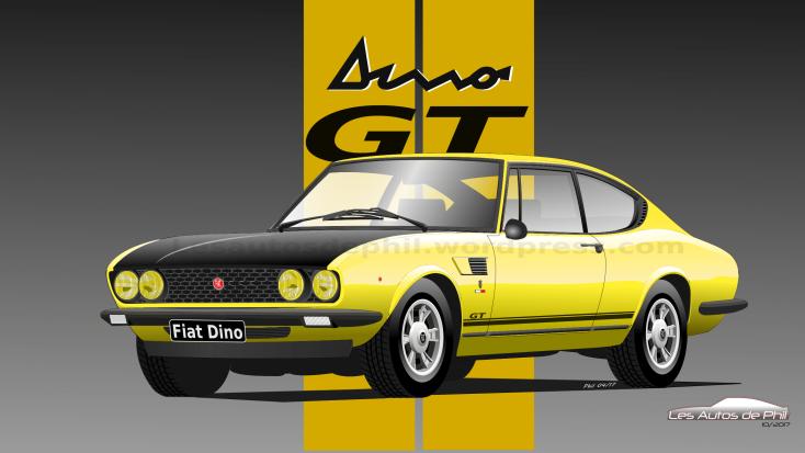 Fiat Dino GT blog