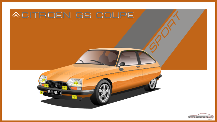 GS coupe sport orange blog