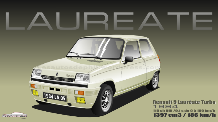 Renault 5 Laureate blog