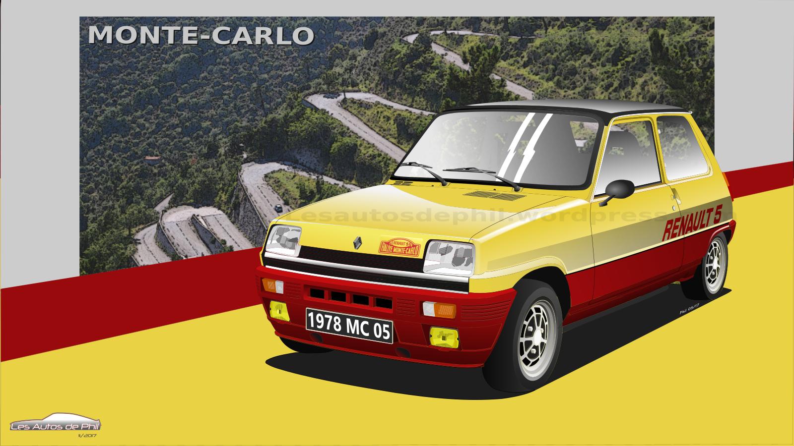 Renault 5 Monte-Carlo blog