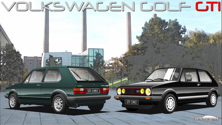 Golf GTI 1 2 noire + verte autostadt blog