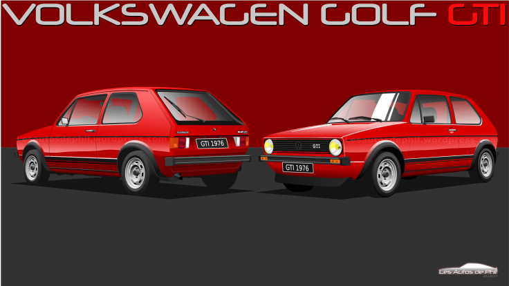 Golf GTI 1 rouge compo blog