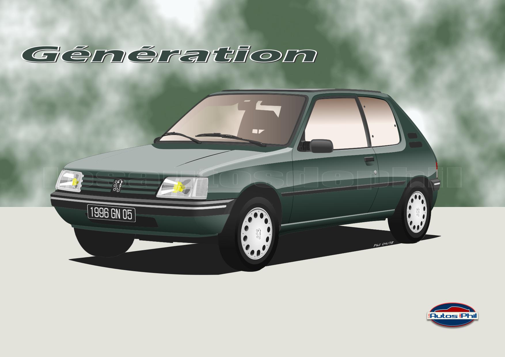 205 3 génération blog w